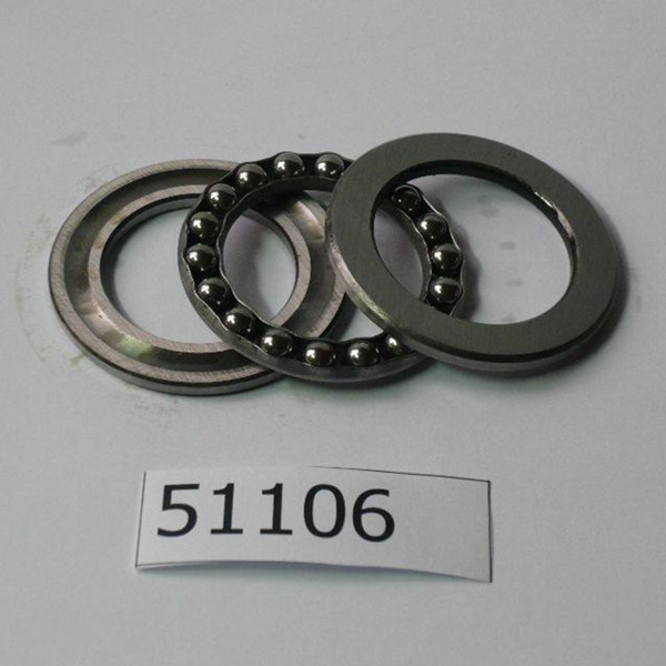 High precision single direction 51106 thrust ball bearing - 30*47*11mm