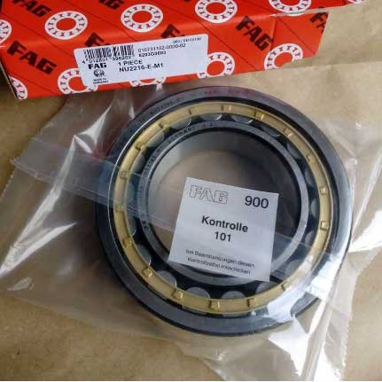 Fag brand cylindrical roller bearing NU2216.E-M1