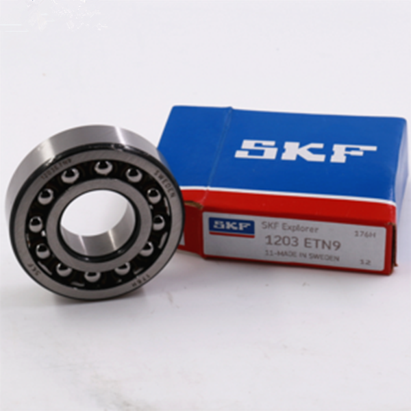 SKF bearings 1203ETN9 double row self aligning ball bearing - 17*40*12mm