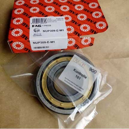 Bass cage cylindrical roller bearing NUP309.E-M1
