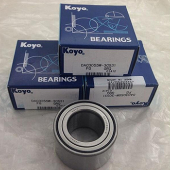Auto wheel hub bearing DAC3055W-3 doule row deep groove ball bearing - Koyo
